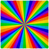 Rainbow old background Royalty Free Stock Photo