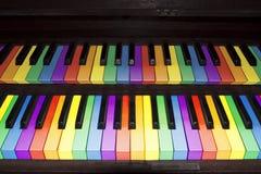 Rainbow organ Royalty Free Stock Photos
