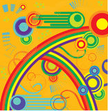 Rainbow ornament Royalty Free Stock Photos