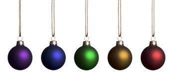 Rainbow Ornaments Stock Image