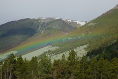 Rainbow over Beartooth Pass Royalty Free Stock Images