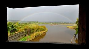 Rainbow over Black Hole Marsh