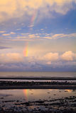Rainbow over Bramble Bay Stock Images