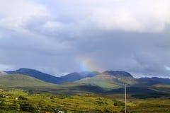 Rainbow over Connemara Stock Image