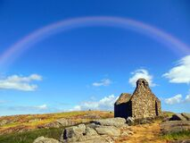 Rainbow Over Dalkey Island, Ireland