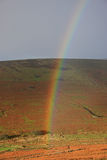 Rainbow over Dartmoor Stock Photos