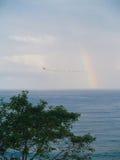 Rainbow Over the Ocean Royalty Free Stock Photo
