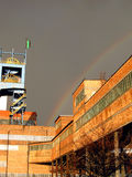 Rainbow over the other, the mine Royalty Free Stock Photography