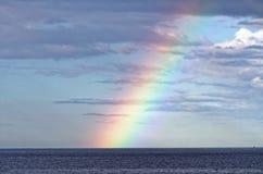 Rainbow over Sea Royalty Free Stock Photo