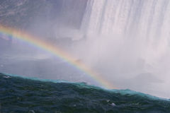 Free Rainbow Over The Waterfall Stock Images - 10783764