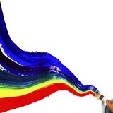 Rainbow paint Royalty Free Stock Photos