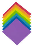 Rainbow paper Royalty Free Stock Photo