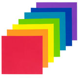 Rainbow paper Royalty Free Stock Images