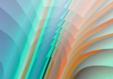 Rainbow paper Stock Images