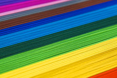 Rainbow paper Royalty Free Stock Photo
