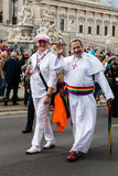 Rainbow Parade Vienna Stock Images