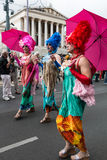 Rainbow Parade Vienna Stock Photos
