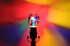 Rainbow Party Lightbulb Royalty Free Stock Image