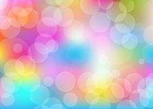 Rainbow pastel background royalty free illustration