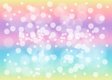 Rainbow pastel background vector illustration