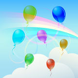 Rainbow. Stock Images