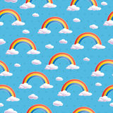 Rainbow pattern Stock Image