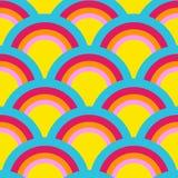 Rainbow Pattern Stock Image