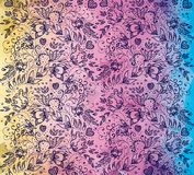 Rainbow pattern romantic Royalty Free Stock Photo