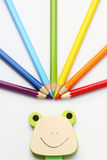 Rainbow pencil Royalty Free Stock Photography