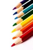 Rainbow pencils Stock Photography