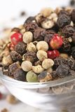 Rainbow peppercorns Royalty Free Stock Image