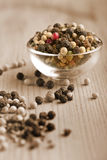 Rainbow peppercorns Royalty Free Stock Photos
