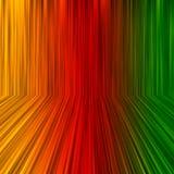 Rainbow perspective background Stock Photos