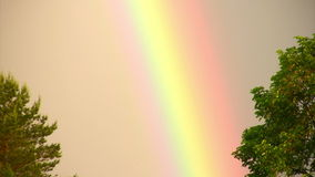 Rainbow phenomenon stock video footage