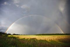 Rainbow pieno Fotografia Stock Libera da Diritti