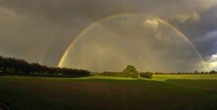 Rainbow pieno Fotografie Stock Libere da Diritti