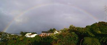 Rainbow pieno immagine stock libera da diritti