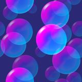 Rainbow pink and blue bubbles with light. vector illustration. Rainbow pink and blue bubbles with light vector illustration vector illustration