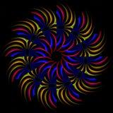 Rainbow pinwheel Royalty Free Stock Photos