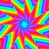 Rainbow Pinwheel Royalty Free Stock Photo