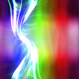 Rainbow Plasma Fractal Layout Royalty Free Stock Photos