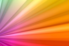 Rainbow Pleats Royalty Free Stock Photos