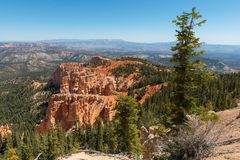 Rainbow Point, Bryce Canyon Stock Images