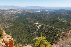 Rainbow Point, Bryce Canyon Stock Photos
