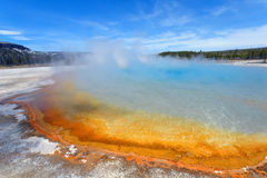 Rainbow Pool at Yellowstone Royalty Free Stock Images