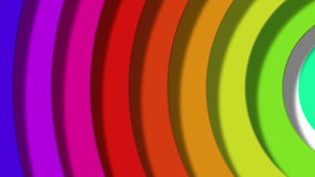 Rainbow pop Stock Image