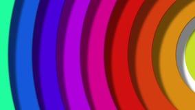 Rainbow pop stock footage