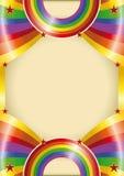 Rainbow poster Royalty Free Stock Photo