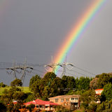 Rainbow power Stock Images