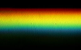 Rainbow prism on texture background Royalty Free Stock Image
